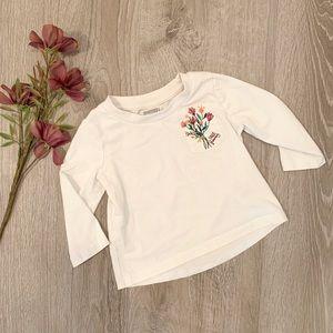 Gymboree   Baby Girl Long Sleeve Shirt 12-18 Month
